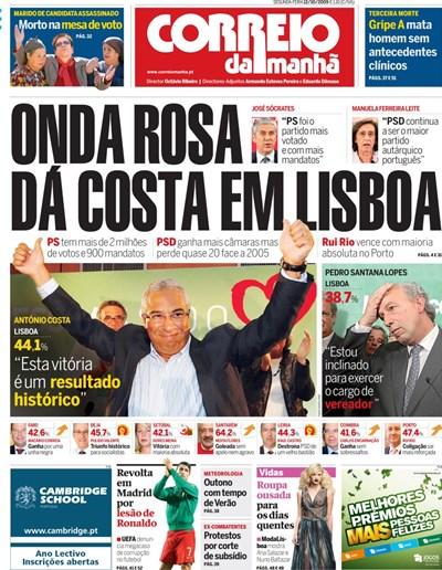 Capa 12 Outubro 2009