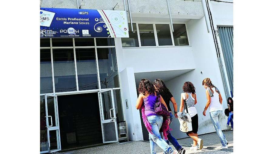 A agressão ocorreu numa sala de aulas da Escola Mariana Seixas