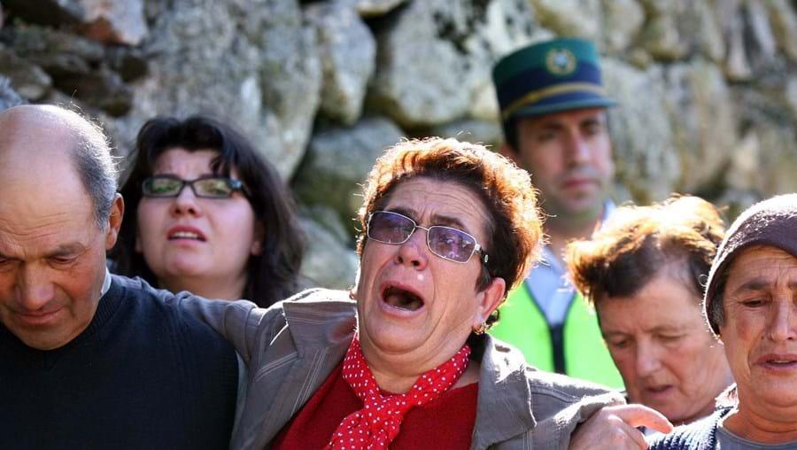 Glória ficou em choque quando soube que António tinha assassinado o seu marido