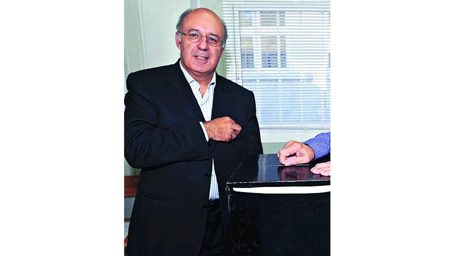 Fernando Seara votou em Viseu, onde está recenseado