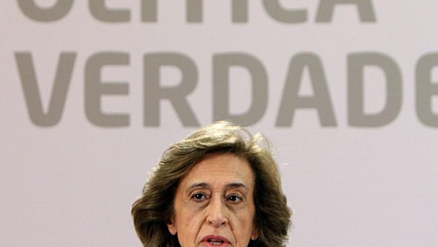 Já passava da meia-noite quando Ferreira Leite reagiu aos resultados das eleições