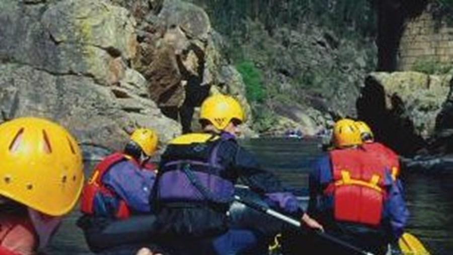 Desaparecido praticava rafting no rio Paiva