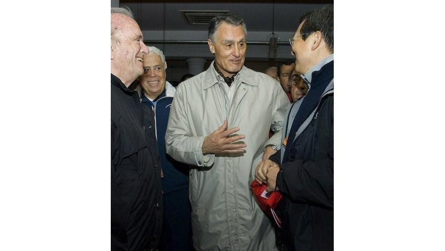 Cavaco Silva e Francisco Pinto Balsemão apoiaram a iniciativa de solidariedade