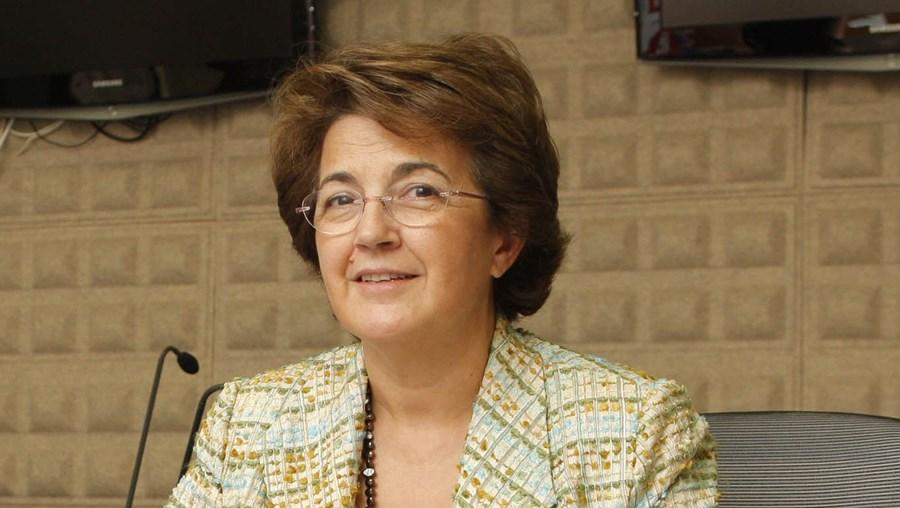 A ministra Ana Jorge