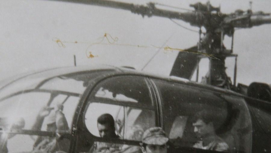 Com os colegas, em 1965