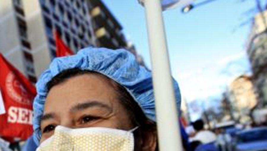 Enfermeiros admitem formas de luta