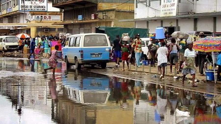 Fortes chuvas em Angola