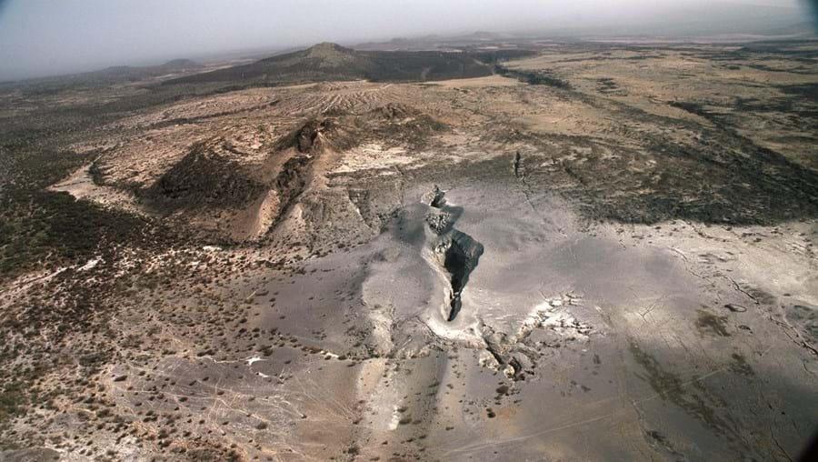 A fenda de Afar é o único lugar da Terra onde se testemunha a fractura de um continente sem ter de mergulhar num oceano
