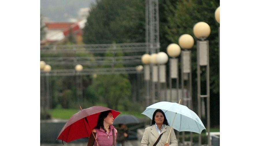 Previsões de chuva forte