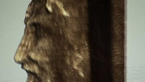 Criado retrato de Jesus Cristo em 3D