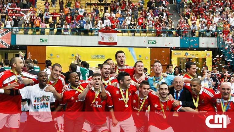 6676a75b0b Benfica é campeão europeu de futsal - Desporto - Correio da Manhã