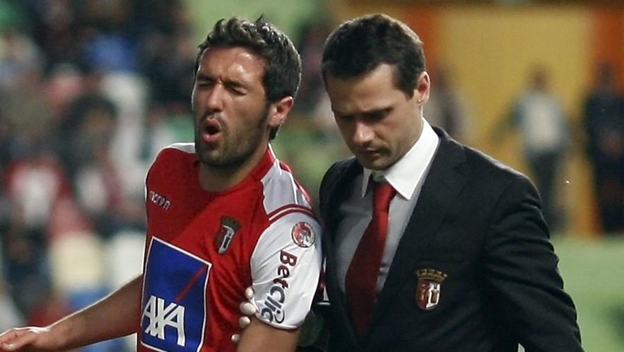 Hugo Viana está lesionado