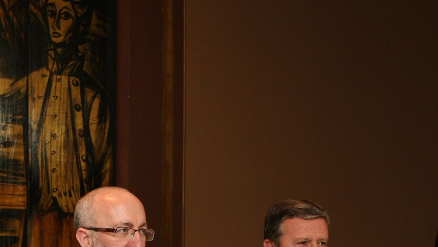 António Ceia da Silva (esq.) e Carlos Beato defendem a candidatura da Herdade da Comporta