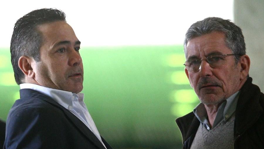 O procurador Almeida Pereira (à esq.) ganhou protagonismo quando foi indicado para dirigir a PJ no norte