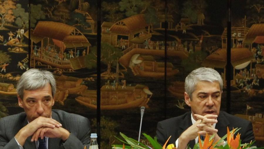 João Cravinho  e José Sócrates