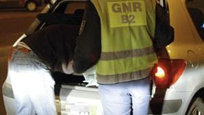 Quatro detidos por álcool