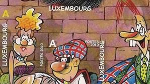 B.D. em selos do Luxemburgo