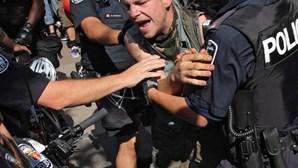 Violência mancha cimeira do G20