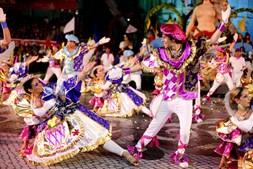 Danças marcaram desfile do Beato que teve 201 pontos