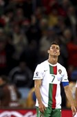 Ronaldo não escondeu a tristeza