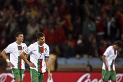 Fim de um sonho foi sentido de forma dura pelos portugueses