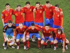 Onze da Espanha que acabou por sair feliz