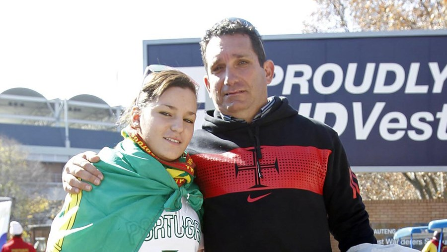 Raquel e Jorge Martins foram apoiar a Selecção