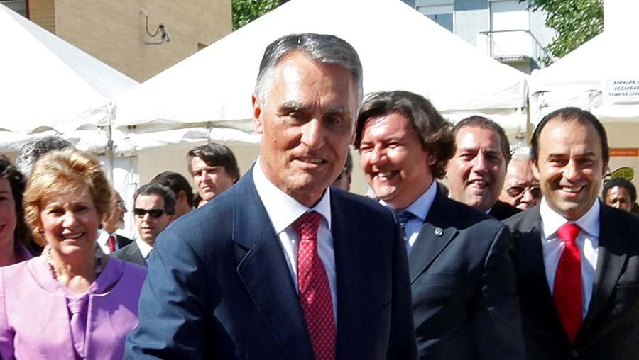 Cavaco Silva jogou pingue-pongue no V Roteiro para a Juventude