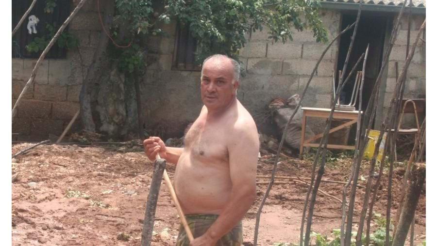 Manuel Miranda ficou com quintal arrasado