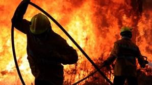 Sete incêndios activos em Portugal
