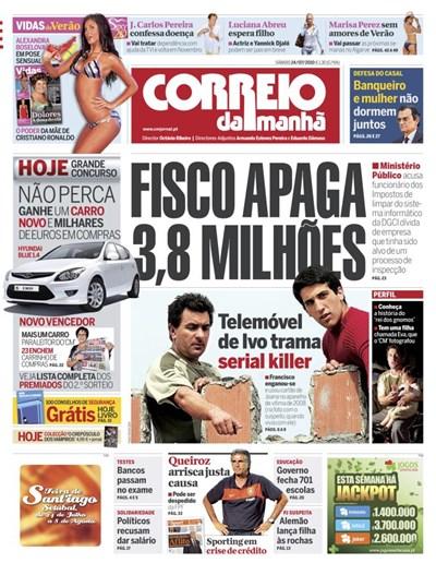 Capa 24 Julho 2010