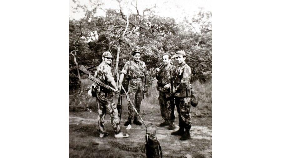 Operação na zona do Burmuleo, em 1969