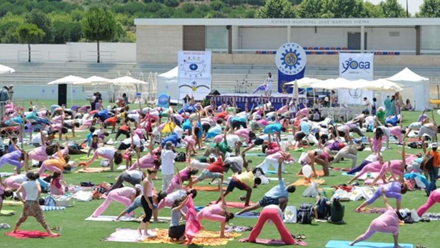 Dia do Yoga em Almada