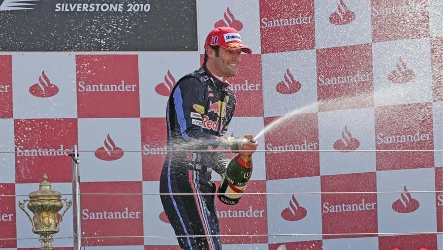 Webber foi o mais rápido em Silverstone