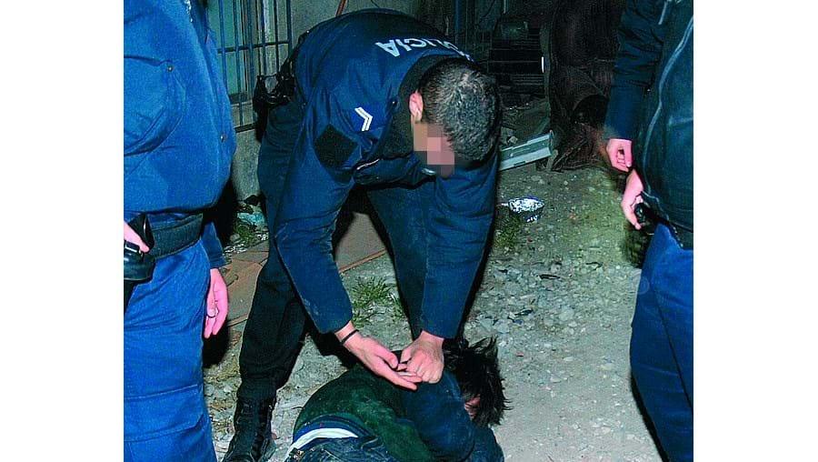 Agentes da PSP conseguiram identificar os suspeitos mas ninguém foi detido