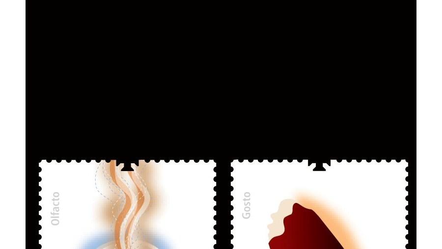 Um selo que cheira a café