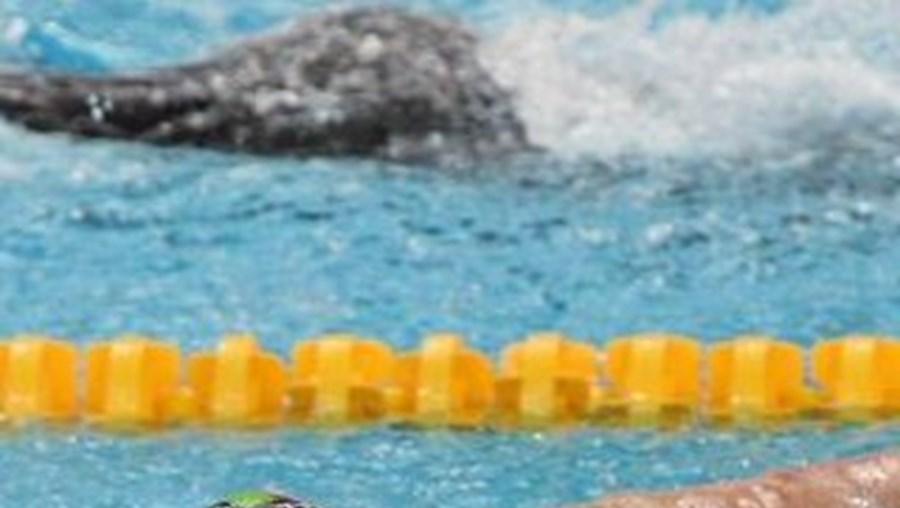 Pedro Oliveira nas meia-finais de 200 metros costas