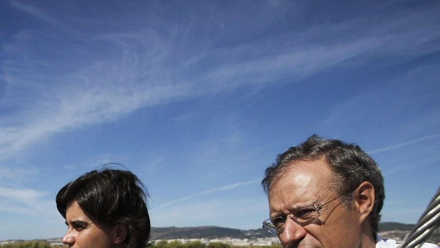 Francisco Louçã visitou a Reserva Natural do Estuário do Tejo