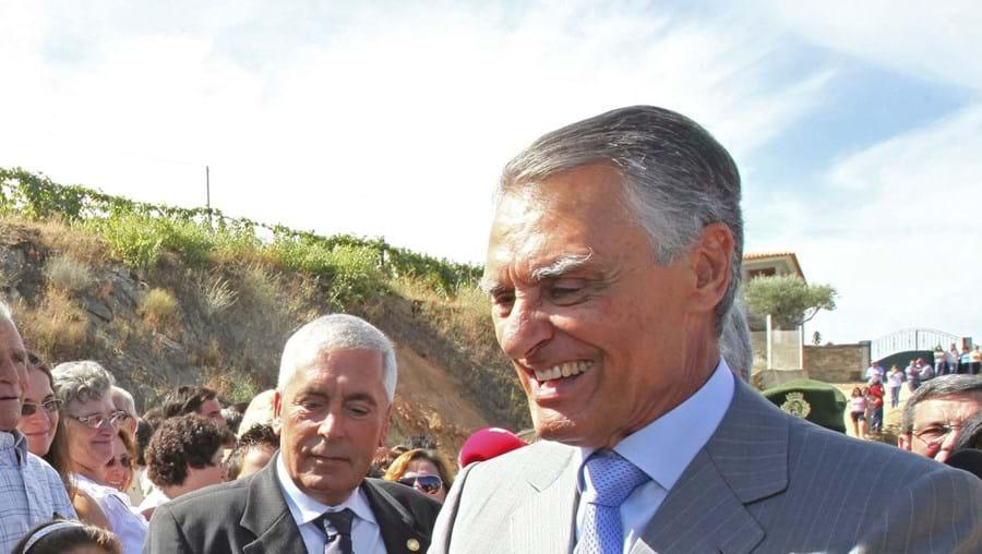 Cavaco Silva esteve ontem em Armamar, Tarouca e Sernancelhe