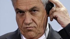 Sebastián Piñera: Gaffe na Alemanha