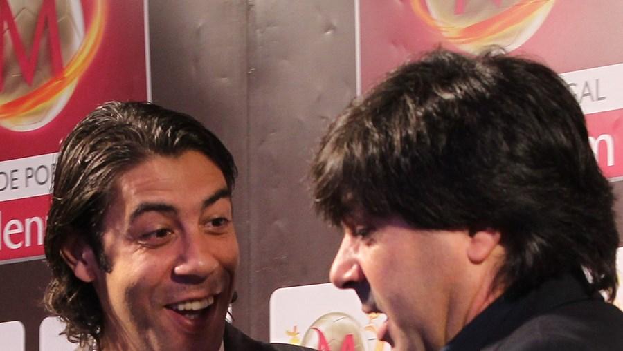 Rui Costa e Rui Casaca no sorteio