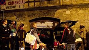 Polícia detém nove 'ocupas'