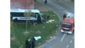 Espanha: Despiste de autocarro faz 38 feridos