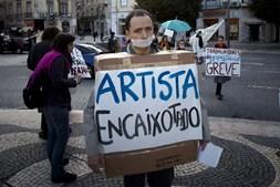 Artistas escolheram dia de greve geral para se manifestarem