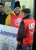Concentração na Autoeuropa aconteceu logo pela manhã do dia 24