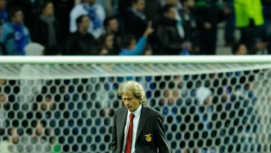 Jorge Jesus está a ser criticado no Benfica