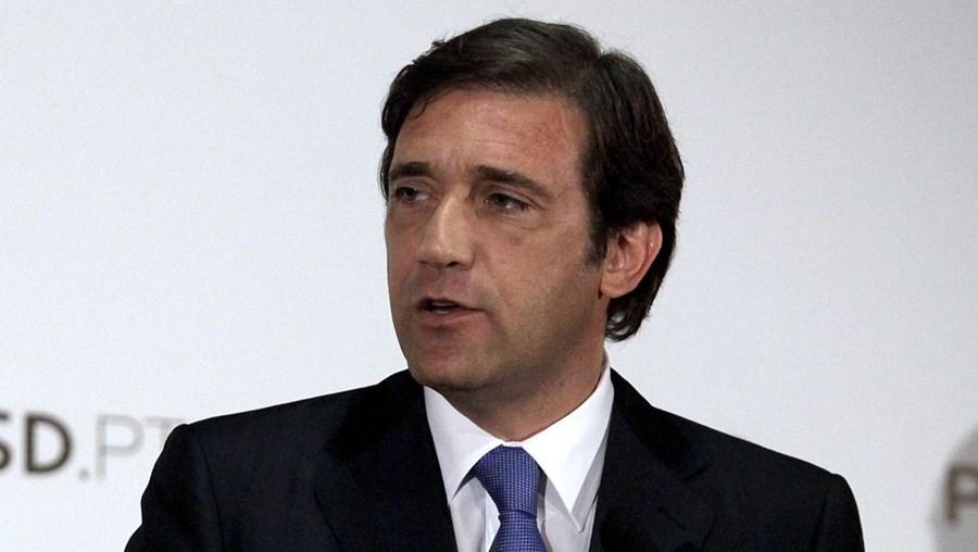 O líder do PSD, Passos Coelho