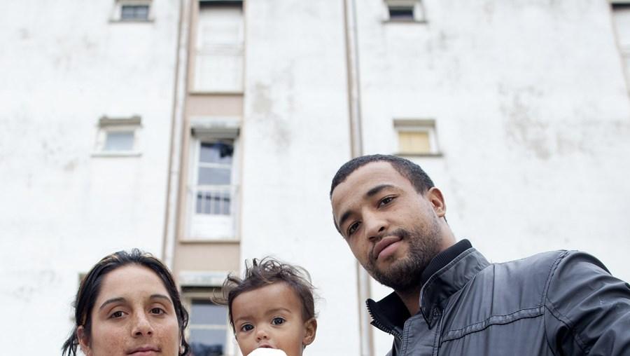 Hermínia Reis e João Gomes voltaram ainda ontem a casa com a pequena Marina