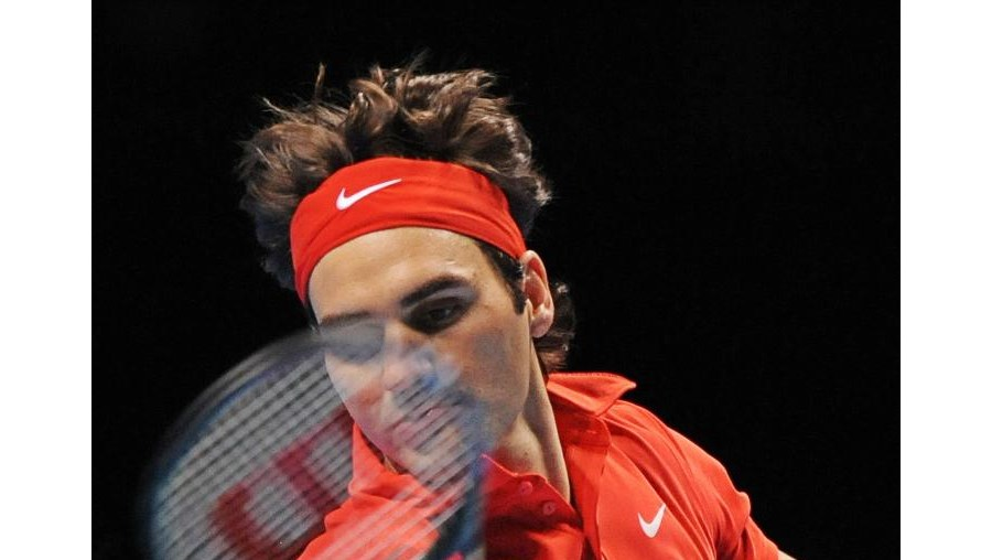 O tenista suíço, Roger Federer