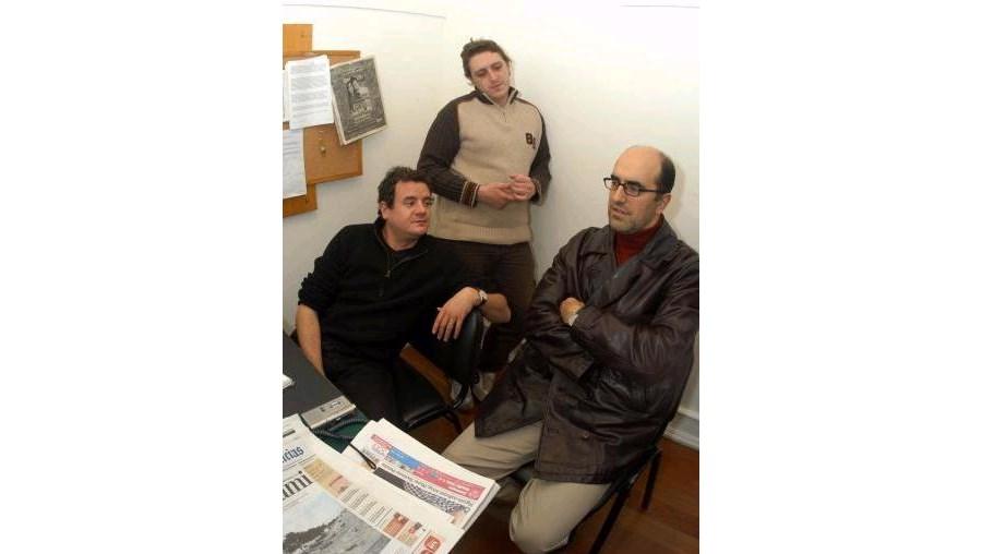 Rui Cardoso Martins, Filipe Homem Fonseca e José de Pina são os autores dos textos